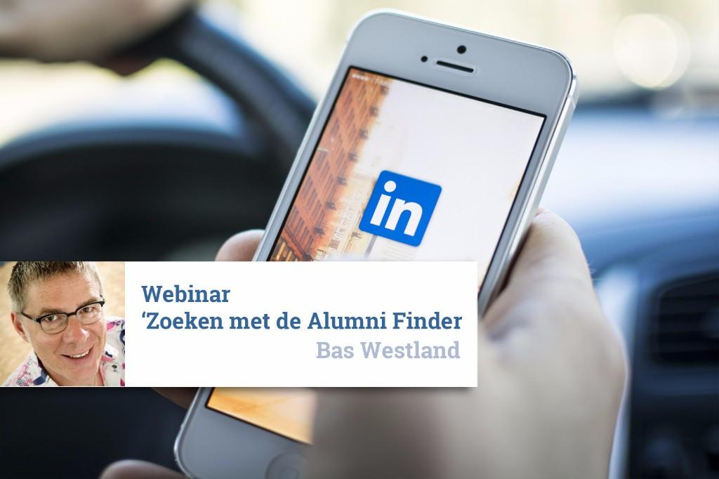 Webinar 'Zoeken met de Alumni Finder'