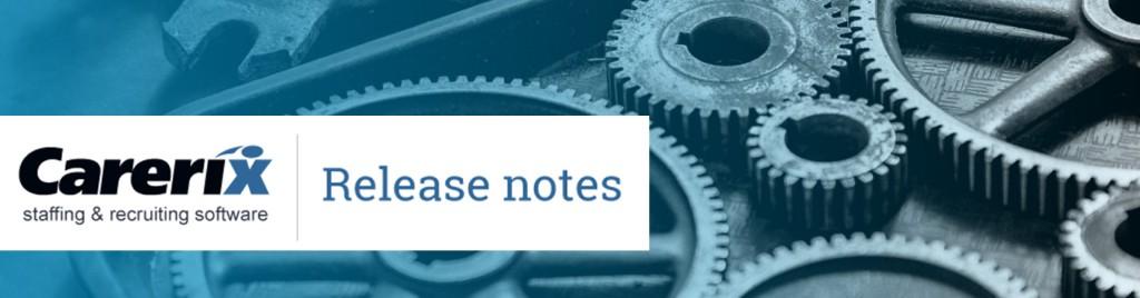 Bekijk de Carerix Release notes