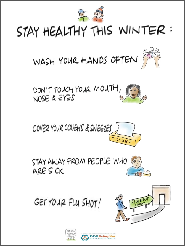 Click here to see a cool poster with tips on how to stay healthy this winter!