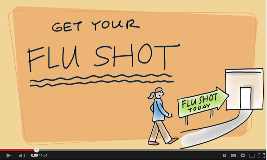 Click here to watch a video about getting your flu shot!