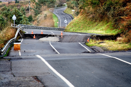 road after emergency