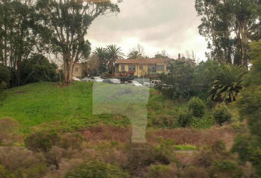 View from Amtrak