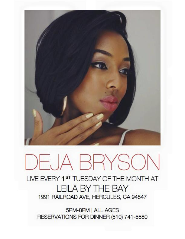 Deja At Leila's Jazz Night