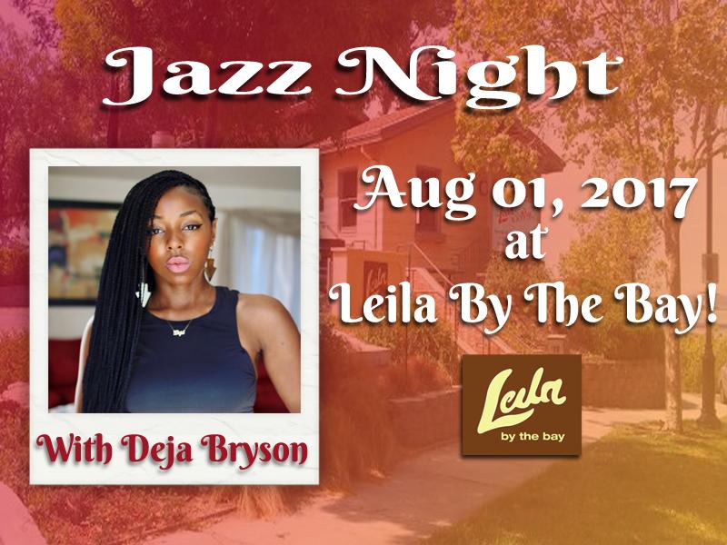 Aug 1 Jazz Night