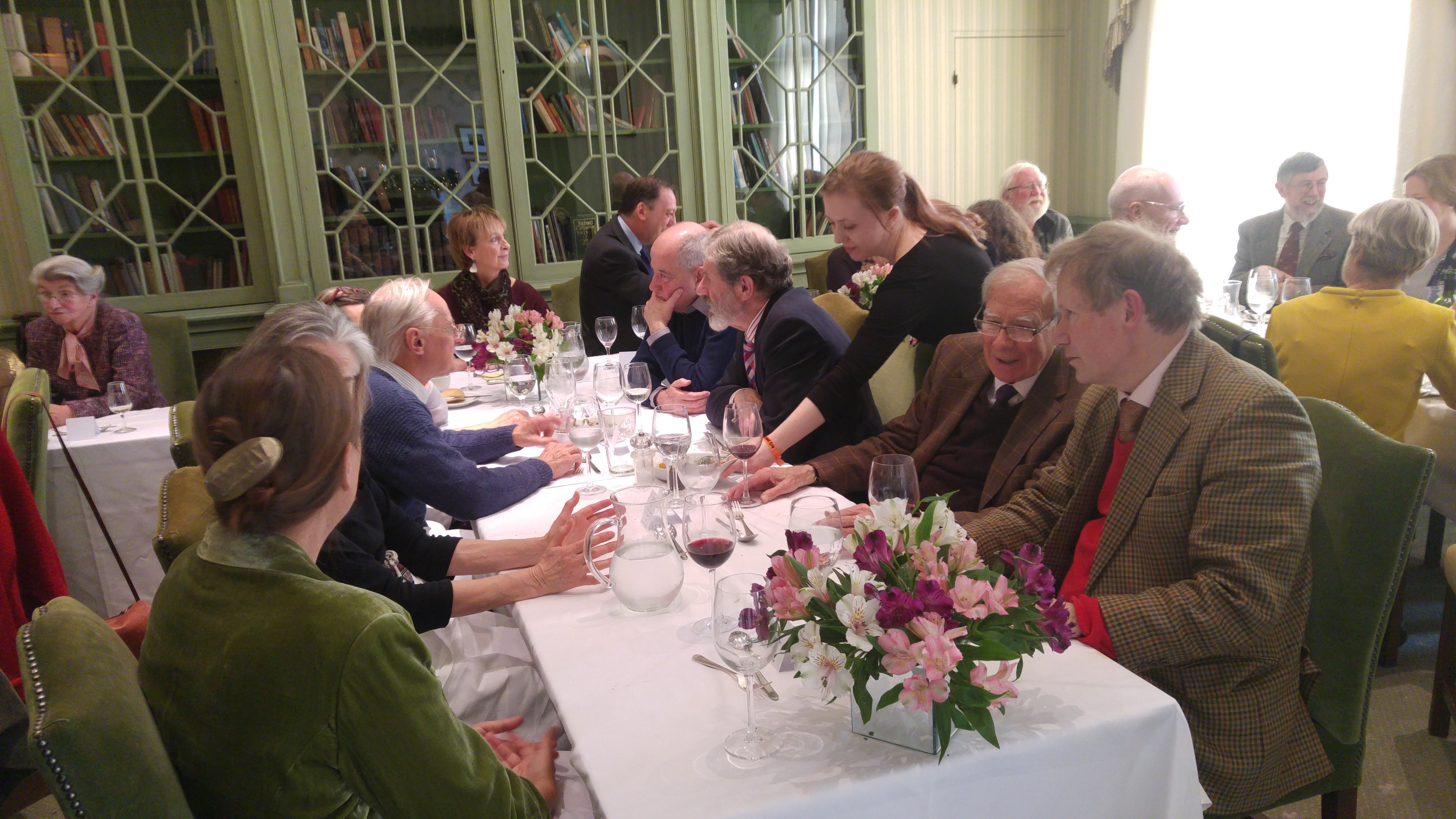 Photo from York Fellows Christmas Lunch