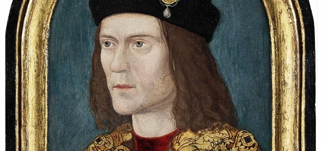detail image of Richard III portrait