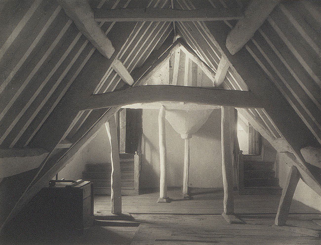 North East Attic by Frederick Evans 1890's