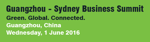 Guangzhou - Sydney Business Summit