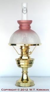 W.T. Kirkman #92 Ramona Oil Lamp