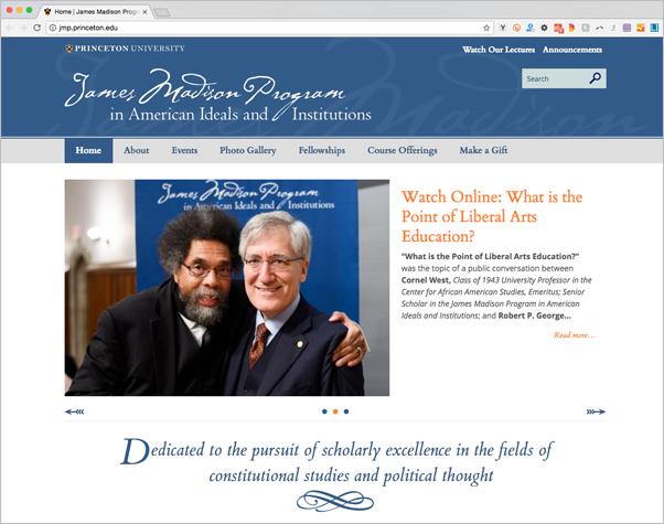 James Madison Program website