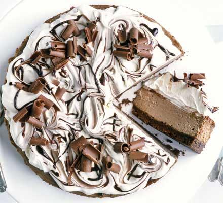 Волшебный шоколадный чизкейк