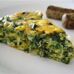 Пирог со шпинатом «К завтраку»