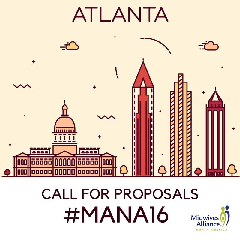 #MANA16 Call for Proposals