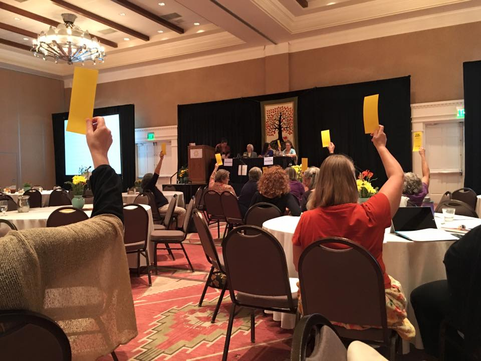 MANA members vote on by-laws changes at MANA 2015