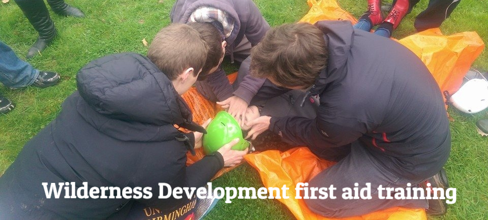 First Aid course dates from Wilderness Development