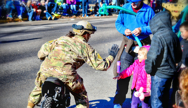 Albany Veterans Day Parade by Quincy Casey