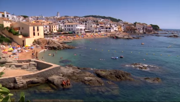 Coastal walks near Calella