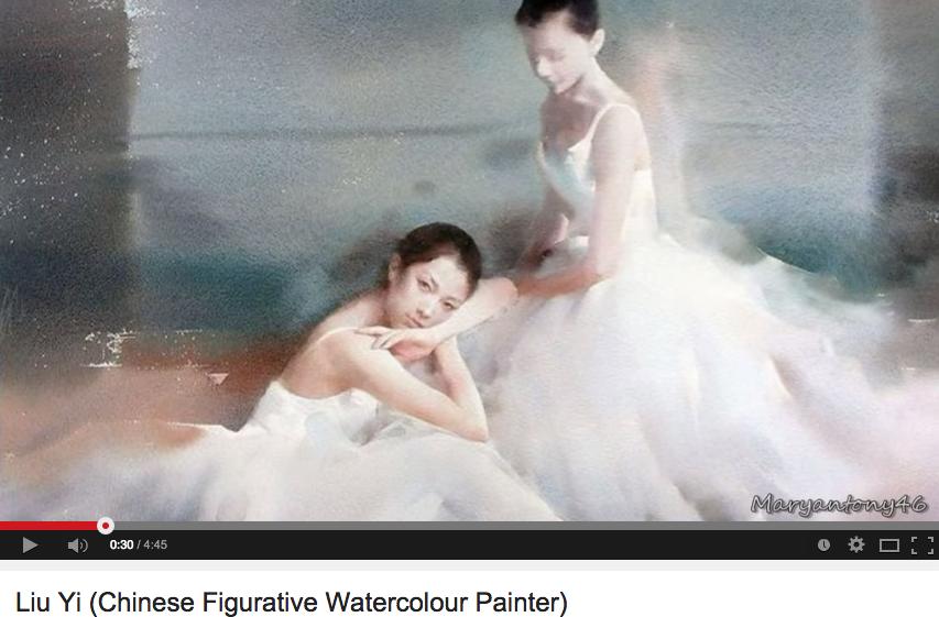 Liu Yi's paintings
