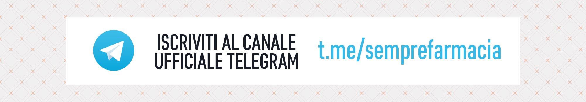 Telegram sconti e promozioni di Semprefarmacia.it