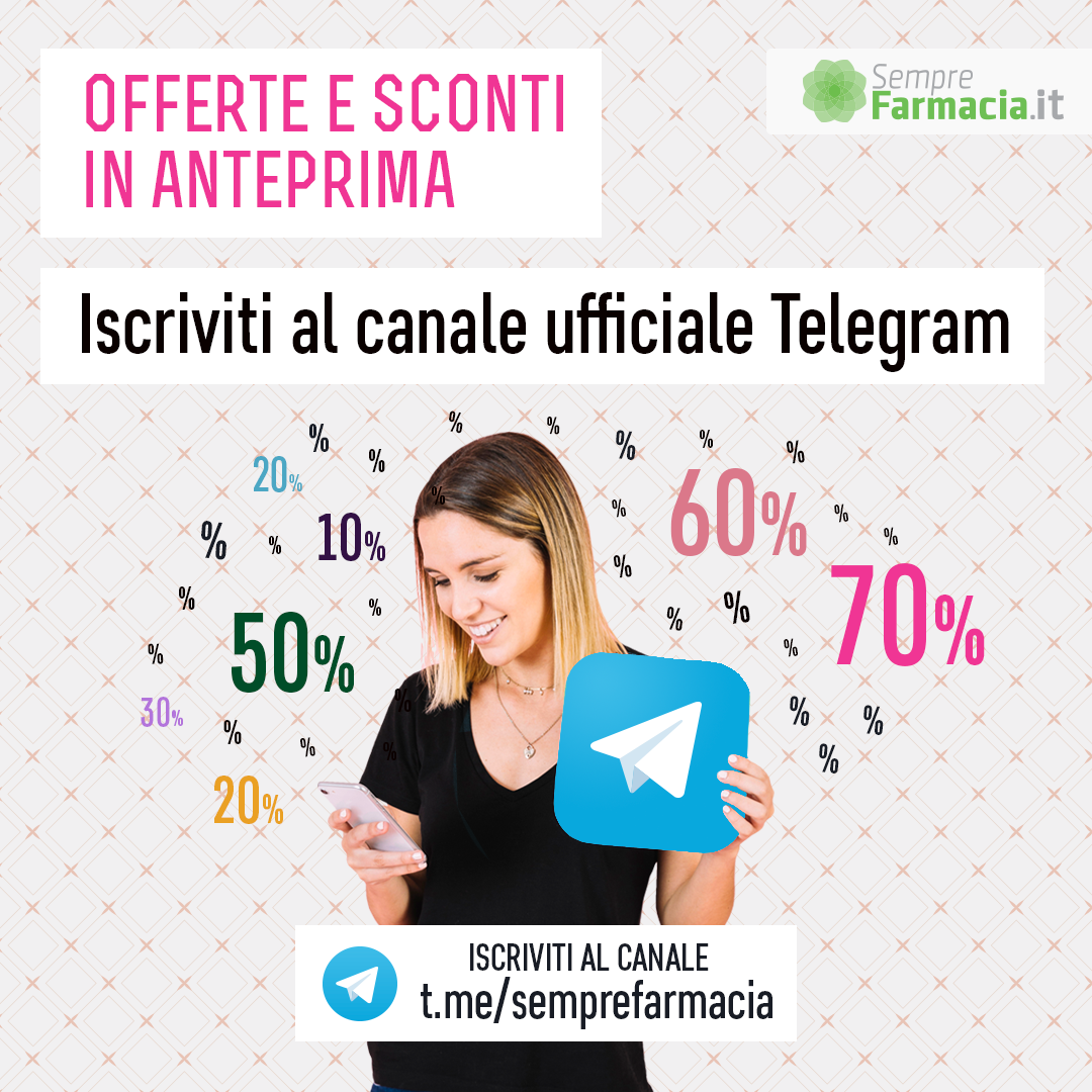 Iscriviti al canale telegram di Semprefarmacia.it