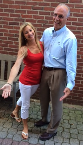 """Growth Council ED Jim Nimon and """"Let's Dance with the Stars"""" partner Lori Hegarty"""