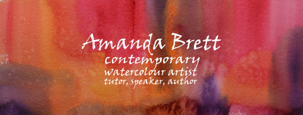 Amanda Brett, Contemporary Watercolour Artist, Tutor, Speaker, Author