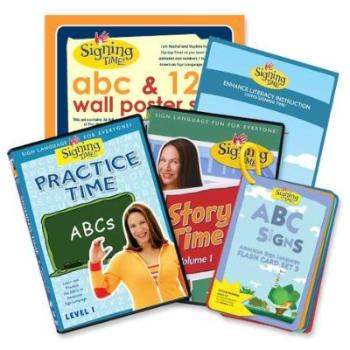 Signing Time Early Literacy Bundle