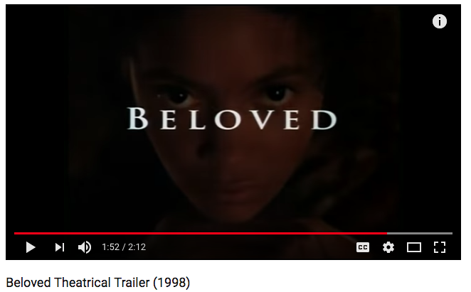 Beloved Theatrical Trailer (1998)