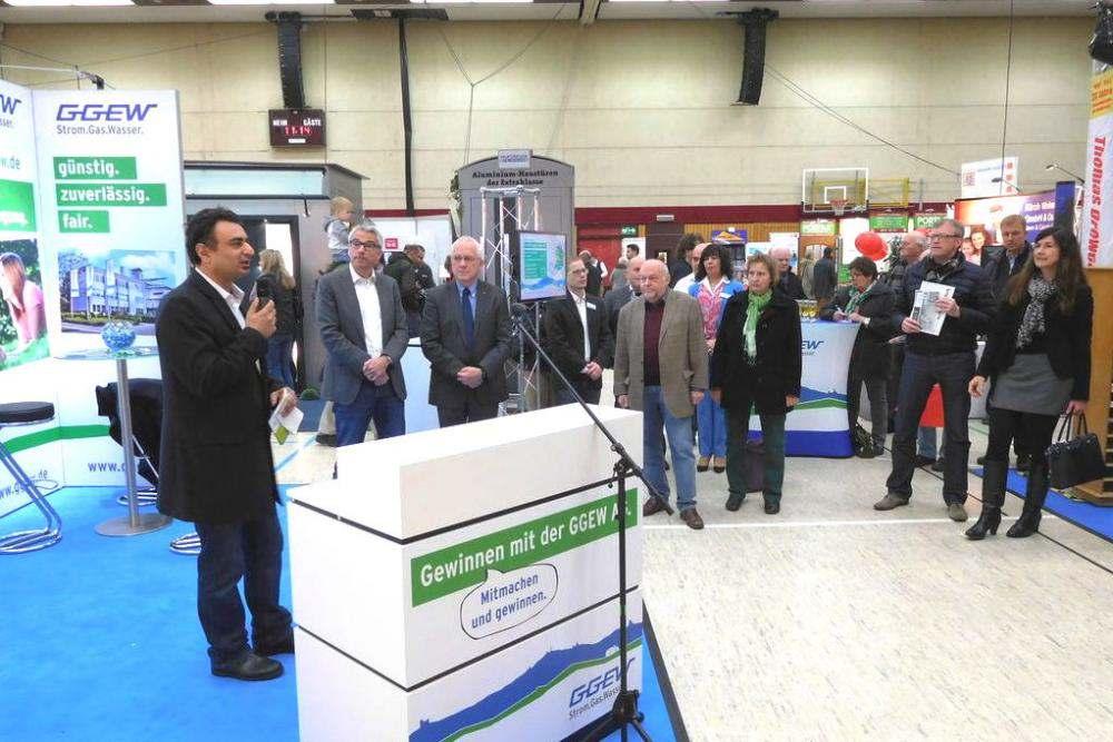 Eröffnung Energie- und Baumesse Bensheim
