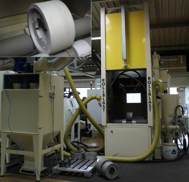 Automatic machine for cleaning of cylindrical shaped tools, Slovenia