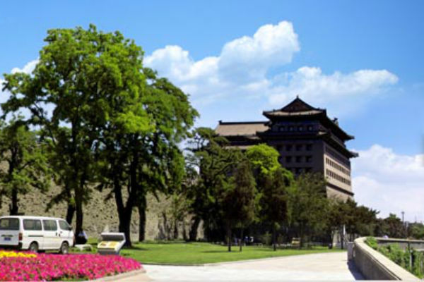 Xian City Wall Tales of Two Cities