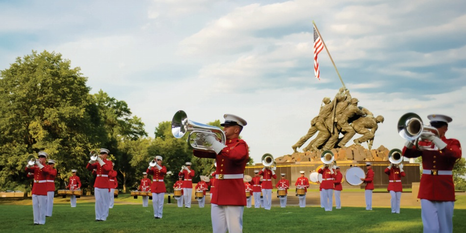 United States Marines Drum and Bugle Corps