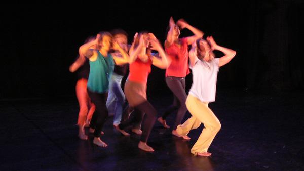 Collectif 12 - Atelier danse contemporaine