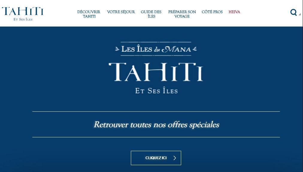 Huit agent de voyage en visite à Tahiti Et Ses Îles