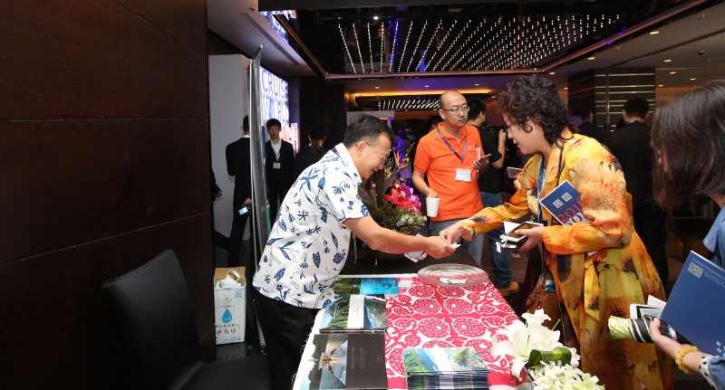 Tahiti Tourisme participe au World Cruise China 2016