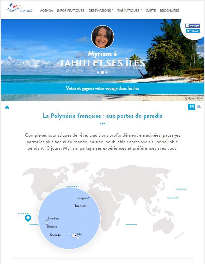Une soirée clientèle dédiée Tahiti Et Ses Îles
