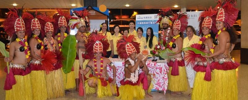 Tahiti Tourisme partenaire des charter chinois