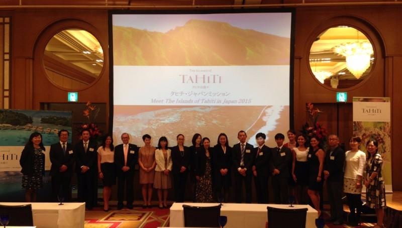 Roadshow Tahiti Tourisme au Japon