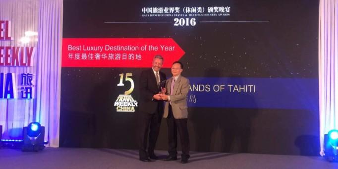 Tahiti élu quatrième des destinations de rêve chez les chinois