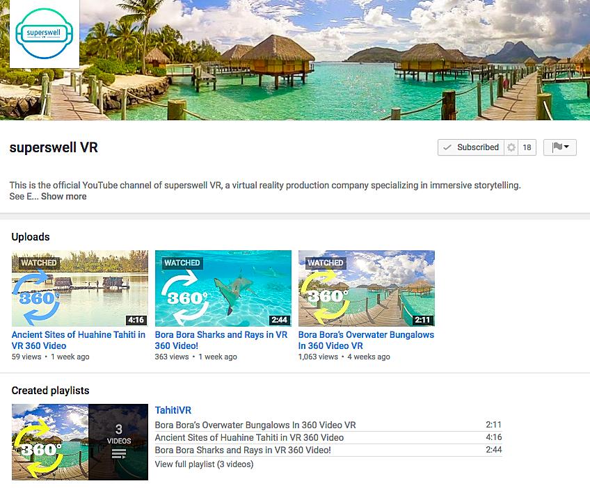 Tahiti Et Ses Îles à la plage de la Réalité Virtuelle