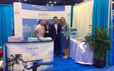 Tahiti Et Ses Îles au Salon de la croisière Cruise 360