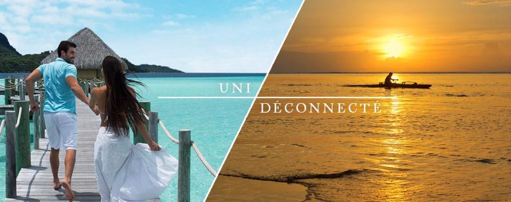 Campagne Tahiti Et Ses Îles dualité Uni-déconnecté