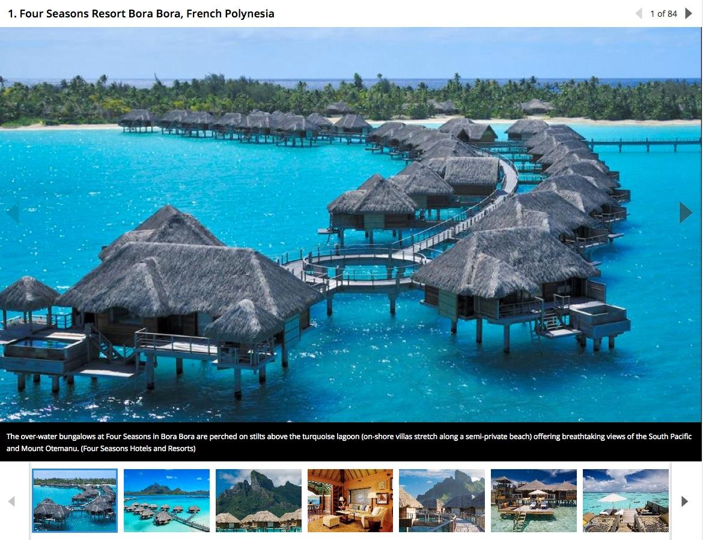 Bungalow sur pilotis Tahiti Et Ses Îles