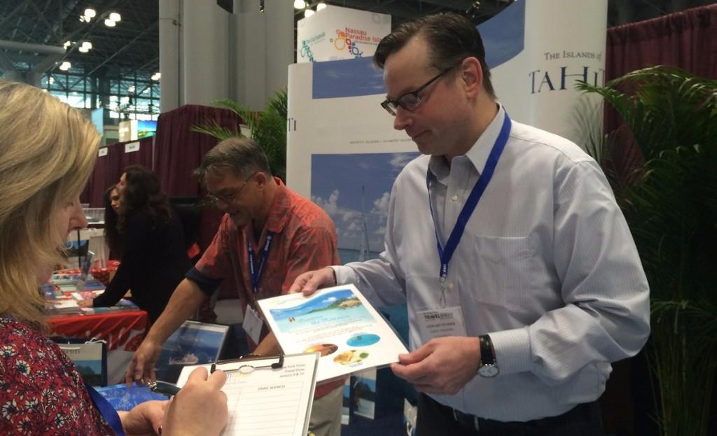 Tahiti Et Ses Îles présent au New York Times Travel Show