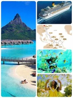 Tahiti Tourisme soutient une croisière dans le Pacifique