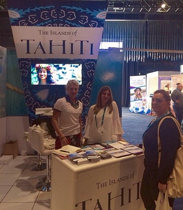 Tahiti Tourisme présent au Travel Industry Expo