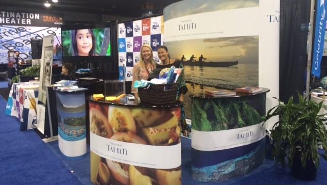 Tahiti Et Ses Îles présent au Chicago Travel & Adventure Show