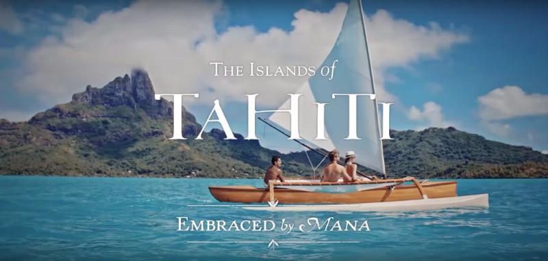 Tahiti Et Ses Îles Embraced by Mana