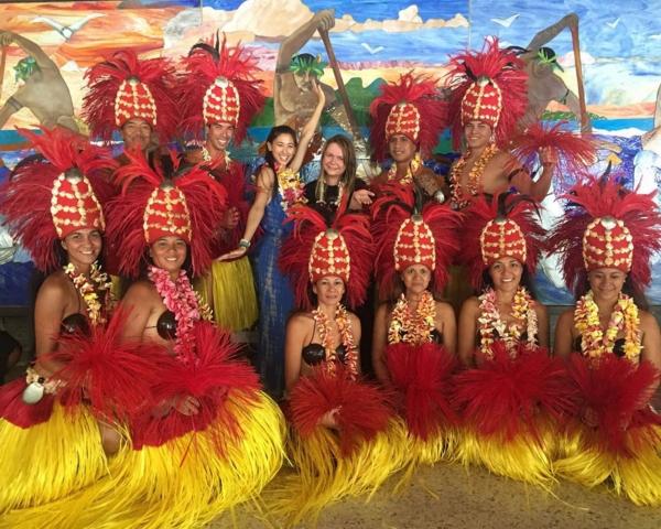Melody Yoko visite Tahiti Et Ses Îles