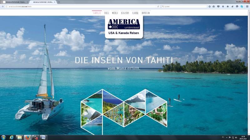 America Unlimited propose Tahiti Et Ses Îles à sa clientèle